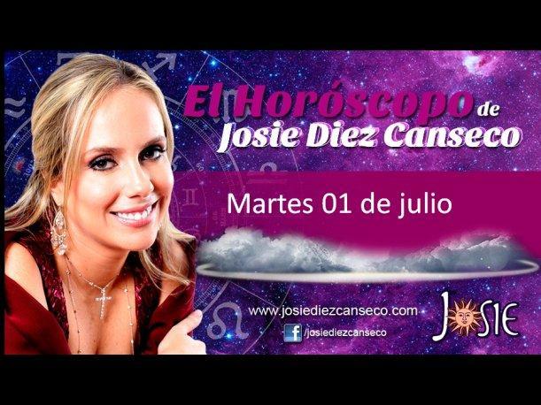 Josie Diez Canseco: Horóscopo del martes 01 de julio (VIDEO)
