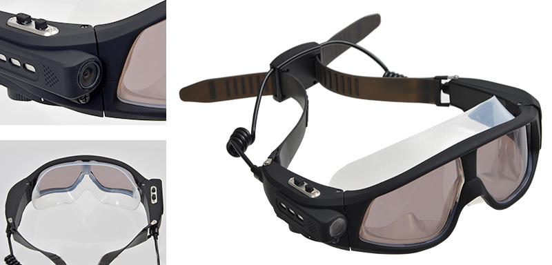 Graba tus sesiones de submarinismo con estas gafas Full HD de Thanko