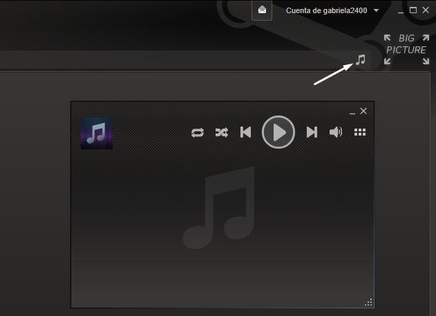 Perdón por mostrar el reproductor vacío, pero no tengo ni una sola canción en mi disco duro, solo uso Spotify xD