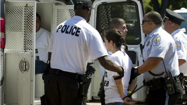 Detenciones en la Casa Blanca