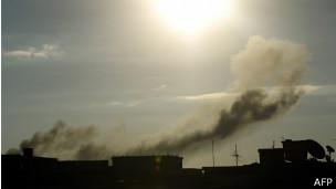 Combates en Libia