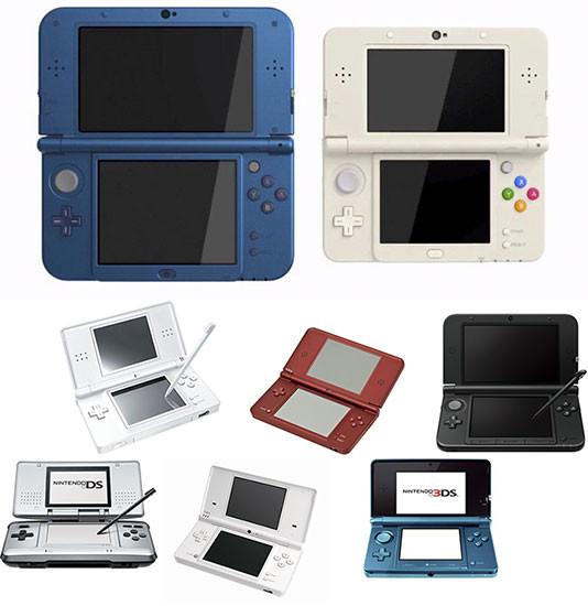 Nintendo 2004-2014-family