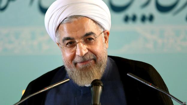 El presidente iraní, Hassan Rouhani.