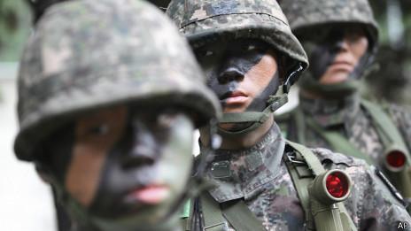 Soldados de Corea del Sur