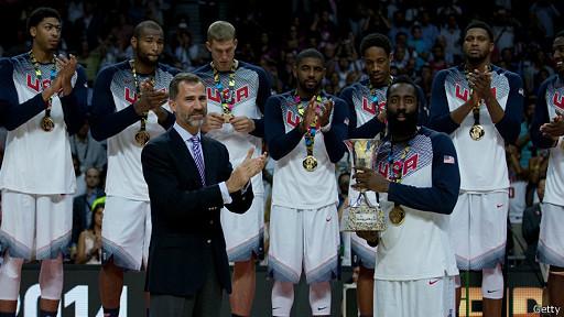 EEUU, final baloncesto