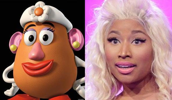 Señor Patata vs. Nicky Minaj