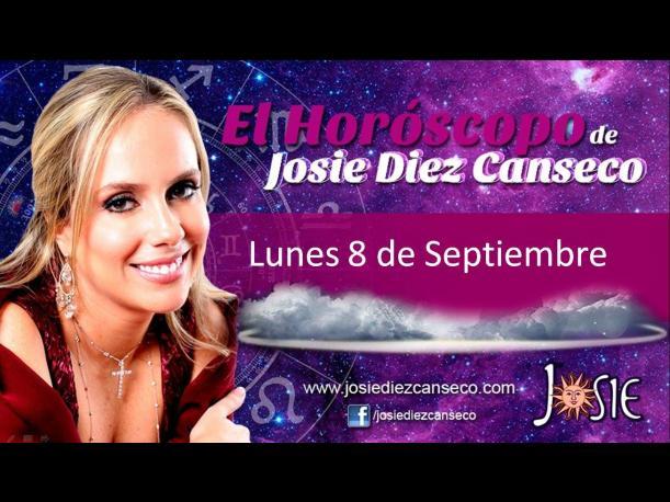 Josie Diez Canseco: Horóscopo del lunes 08 de septiembre (VIDEO)