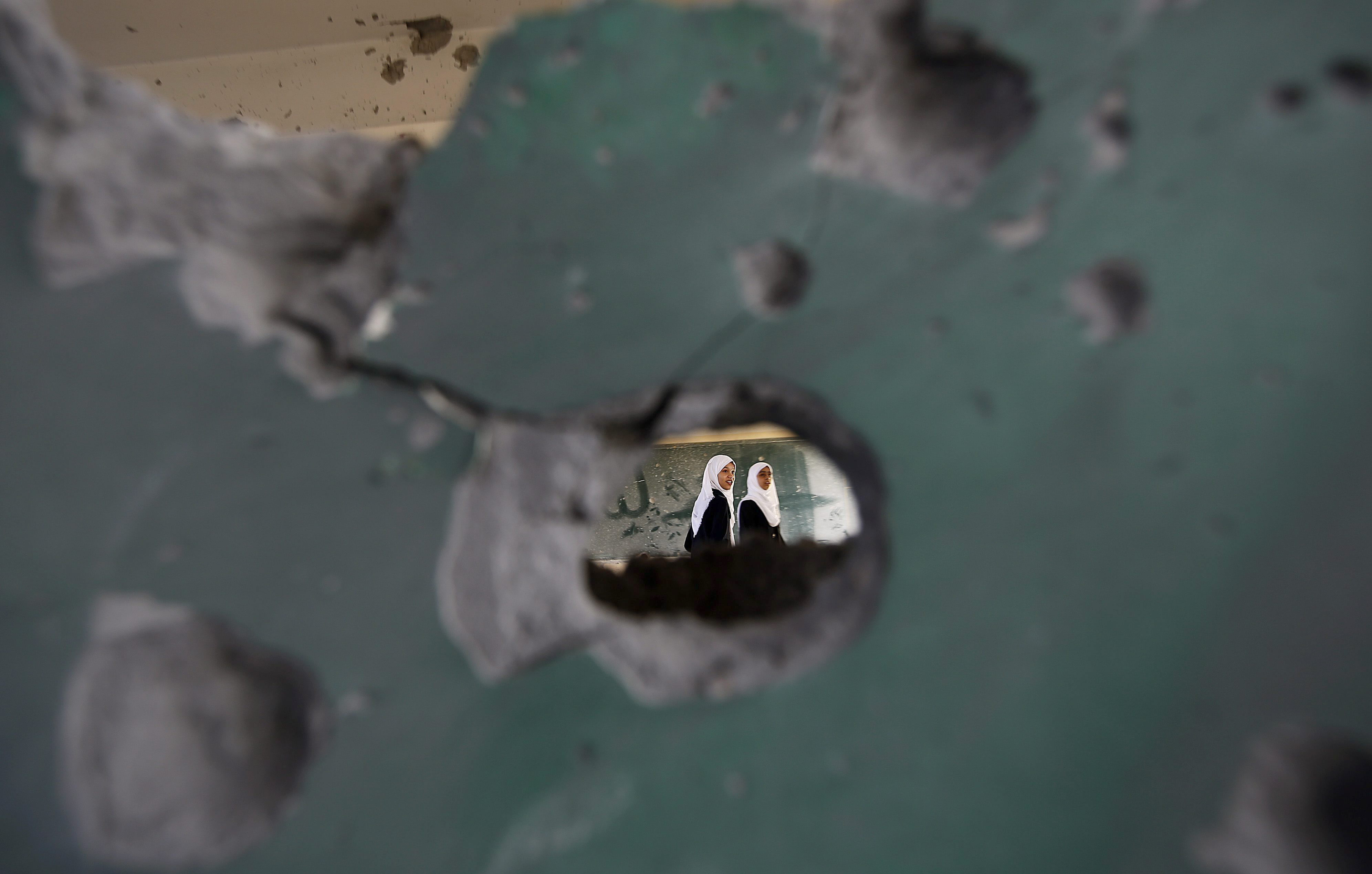 MIDEAST ISRAEL PALESTINIANS CONFLICT NEW SCHOOL YEAR