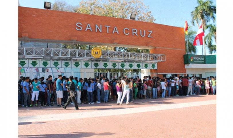 La Expocruz espera la visita de más de 500.000 personas durante sus diez noches de exposición.