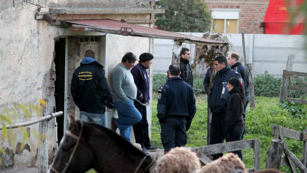Lugar del macabro crimen de Juan Alberto Bravo en Coronel Suárez. (La Nueva Radio Suarez )