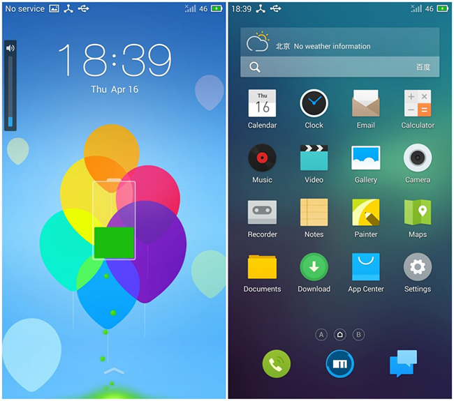 FlymeOS Nexus 5