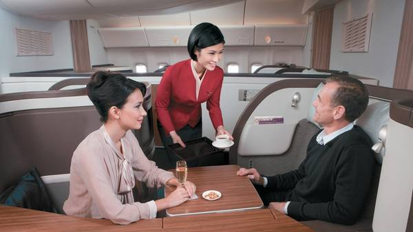 Puesto número 2: Cathay Pacific First Class Suites (US$ 713).