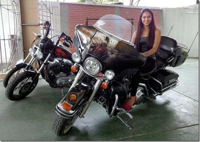 Raquel Velarde (Chica Harley)
