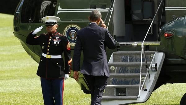 Preparativos. El presidente Obama asistirá a la cumbre de la OTAN en Gales.