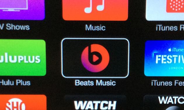 Beats Music se cuela en el Apple TV con la última actualización de iOS
