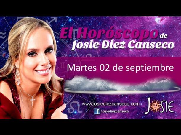 Josie Diez Canseco: Horóscopo del martes 2 de septiembre (VIDEO)