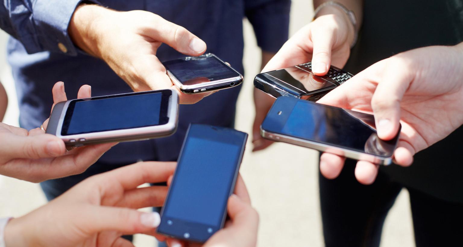 smartphone telefonos usuarios llamadas