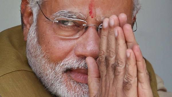El candidato del partido nacionalista hindú, Narendra Modi, ganó las elecciones en la India. (AP)