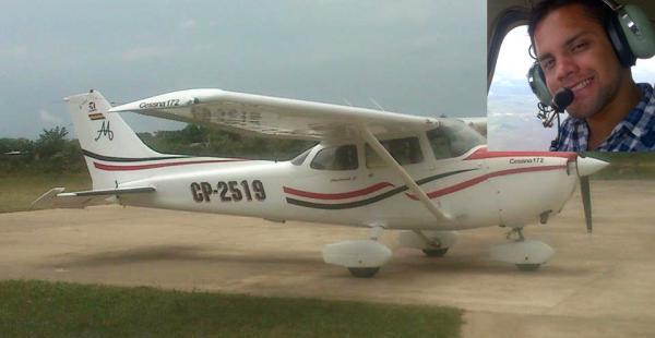 El joven piloto publicaba fotos de su de las actividades de navegación aérea que realizaba