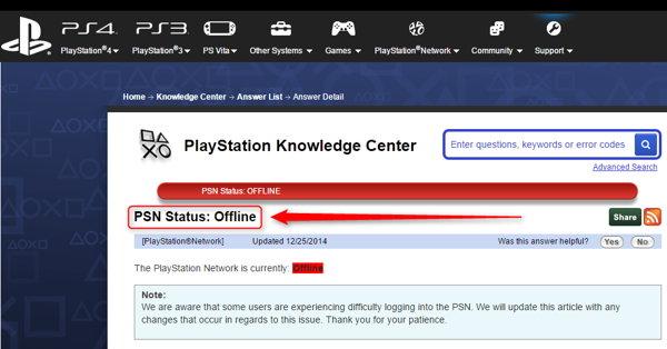Se reportan serios problemas con Xbox Live y PlayStation Network por
