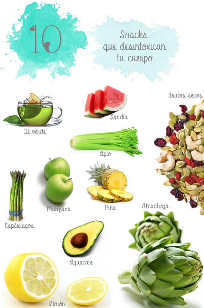 alimentos para desintoxicar
