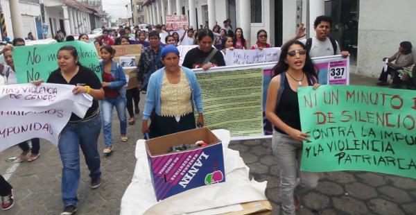 Exigen justicia por Eliana Rivas una joven vejada