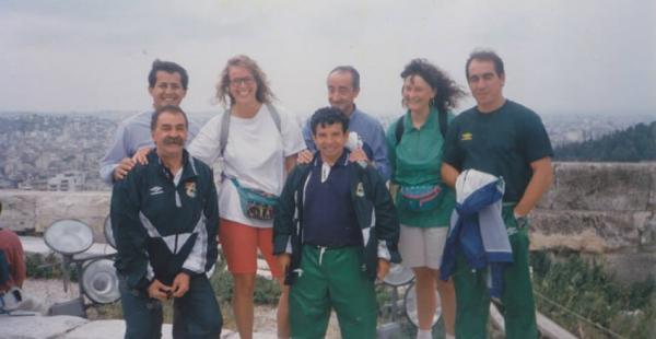 Óscar Rodríguez es un persona muy querida en el ambiente del fútbol nacional. Esta vez, los exseleccionados mundialistas del 94' se unen para colaborarlo