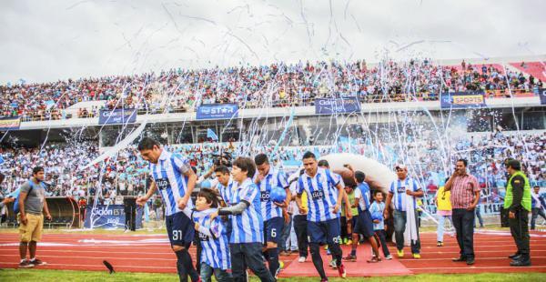 Este ambiente se puede repetir en el estadio de Tarija si Ciclón retorna a la Liga el fin de semana