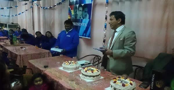 Fiesta de cumpleaños Paredes