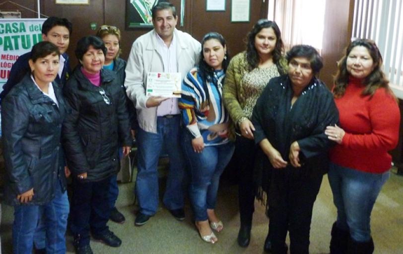 Distinguen labor de Políticas Sociales en la ExpoVilla 2015