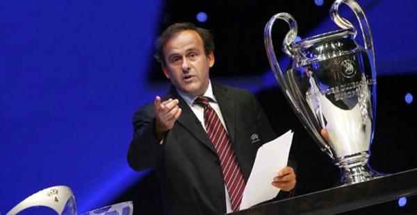 Michel Platini presidente de la UEFA