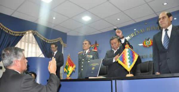 Luis Fernando Aramayo es el nuevo Viceministro de Defensa y Cooperación al Desarrollo Integral