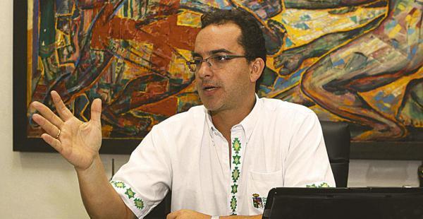 Roly Aguilera, secretario de la gobernación, habló del pacto fiscal