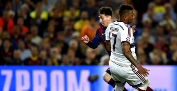 Lionel Messi dejó deslumbrados a muchos con la jugada previa a su segundo gol en el duelo ante el Bayern