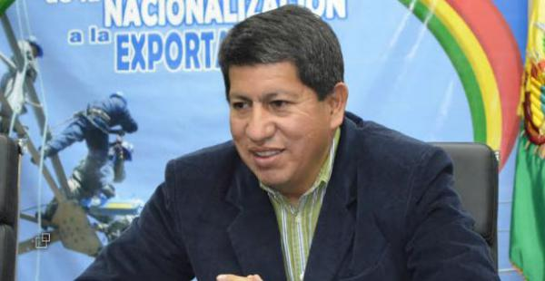 Ministro de Hidrocarburos y Energía, Luis Alberto Sánchez