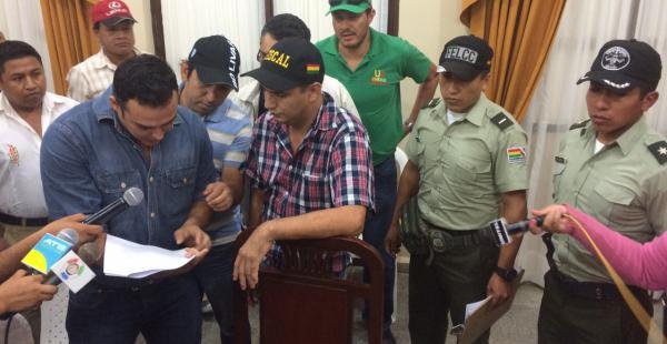 El Ministerio Público allanó las oficinas de la Gobernación del Beni la tarde de este lunes