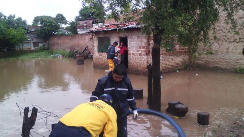 Rescatistas municipales concluyeron con el trabajo de desagüe