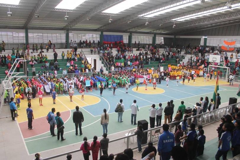 Inauguración de los Juegos Deportivos Municipales del Plan Tres Mil