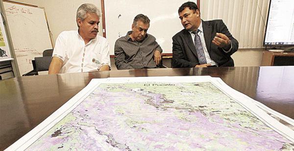 Autoridades de la Gobernación analizan los posibles daños al agro
