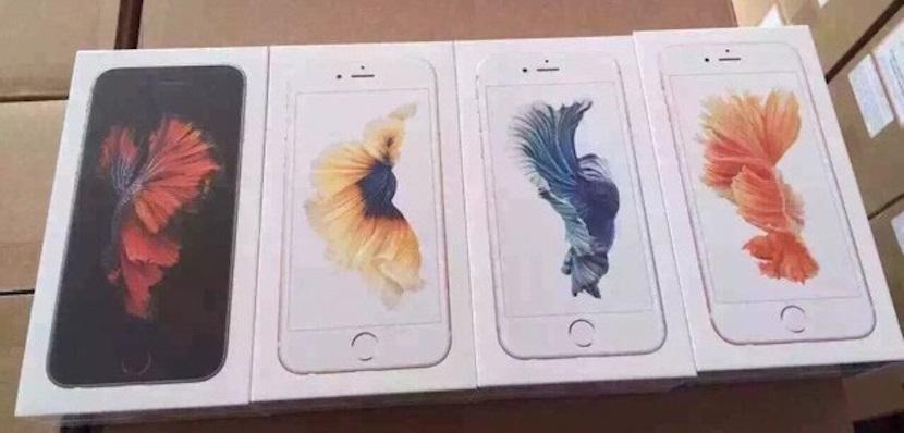 iPhone 6S3 Estas son las cajas del nuevo iPhone 6S