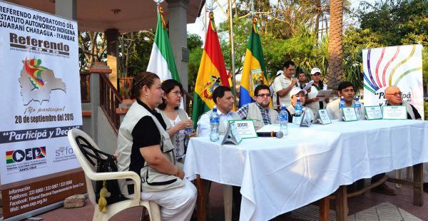 Charagua vota por la conversión a la autonomía indígena originaria campesina