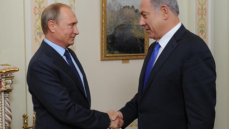 EPutin a Netanyahu:
