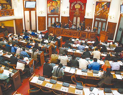 Hemiciclo. Las autoridades serán electas en una sesión legislativa.