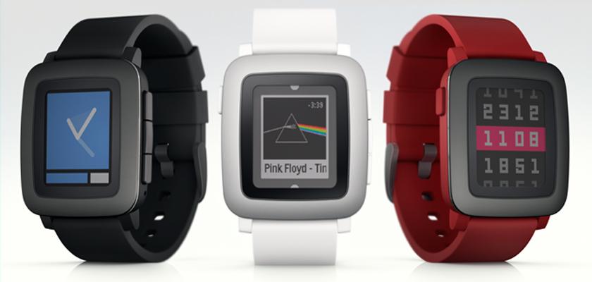 pebble time1 Pebble podría presentar muy pronto un smartwatch circular