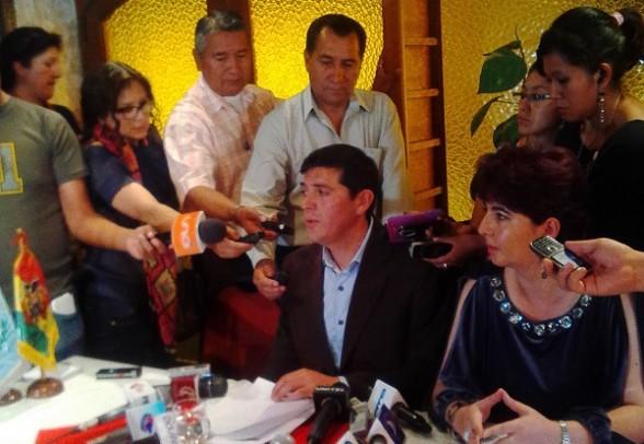 El representante legal de JOCA en Bolivia, Waldo Viscarra. - Los Tiempos Digital   Usuario