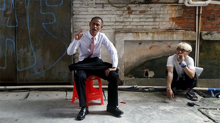 El doble de Barack Obama: Un chino se convierte en ídolo por imitar al presidente estadounidense