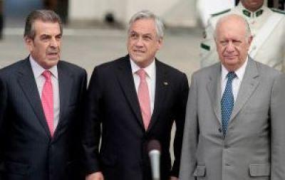 """En Chile: Lagos dice que """"no está en cuestión ninguna cesión territorial"""""""