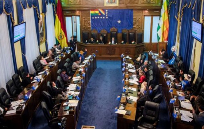 Cámara de senadores aprueba modificación al Presupuesto General 2015