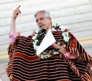 García Linera atribuye el éxito de La Haya a Evo