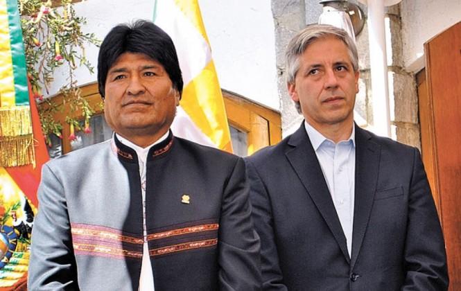 """Vicepresidente vuelve a mencionar que Morales deseaba jubilarse al lado de una """"quinceañera"""""""